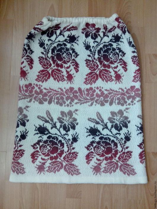 Юбки ручной работы. Ярмарка Мастеров - ручная работа. Купить Шерстяная юбка Вальс цветов. Handmade. Цветочный, шерстяная юбка
