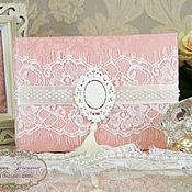 """Свадебный салон ручной работы. Ярмарка Мастеров - ручная работа Свадебная книга пожеланий """"Прекрасная леди"""". Handmade."""
