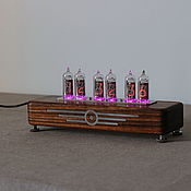 Для дома и интерьера handmade. Livemaster - original item Diesel lamp clock (Amazon) box. Handmade.