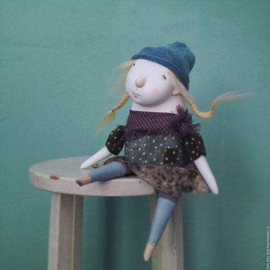 Коллекционные куклы ручной работы. Ярмарка Мастеров - ручная работа. Купить Маленькая Пам-Пам. Handmade. Комбинированный, интерьерная кукла