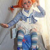 """Куклы и игрушки ручной работы. Ярмарка Мастеров - ручная работа Мастер-класс: Авторская кукла """"Капитанская дочка"""".. Handmade."""
