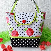 Работы для детей, handmade. Livemaster - original item Handbag for girls