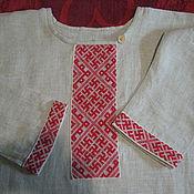 Русский стиль ручной работы. Ярмарка Мастеров - ручная работа Рубаха мужская. Handmade.