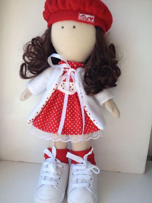 Коллекционные куклы ручной работы. Ярмарка Мастеров - ручная работа. Купить Интерьерная кукла. Handmade. Кукла ручной работы, синтепон