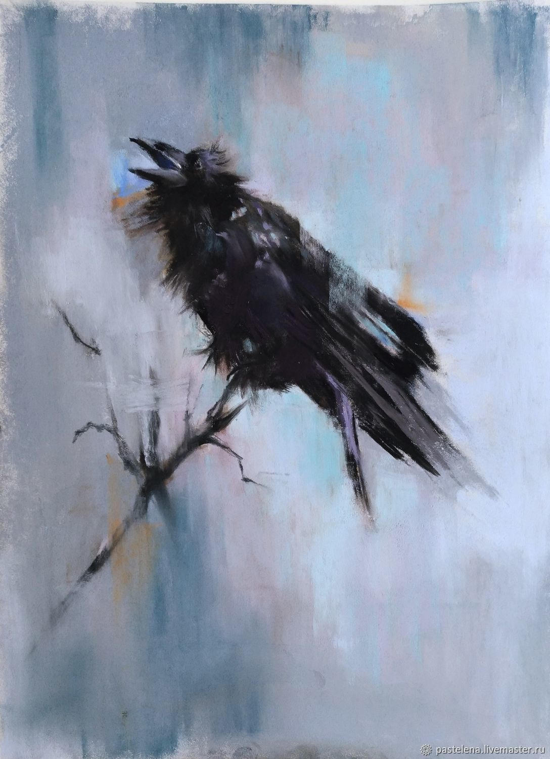 Painting for the interior of the Raven (black grey bird), Pictures, Yuzhno-Uralsk,  Фото №1