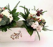 Цветы и флористика ручной работы. Ярмарка Мастеров - ручная работа Букеты из живых цветов подружкам невесты. Handmade.