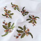 Для дома и интерьера handmade. Livemaster - original item Tablecloth with embroidery