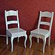 Мебель ручной работы. Ярмарка Мастеров - ручная работа. Купить Стул Марина. Handmade. Белый, стул из массива, бук