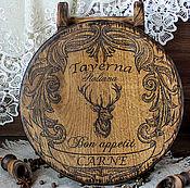 Для дома и интерьера handmade. Livemaster - original item Board, bread, cutting of oak