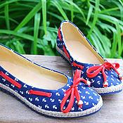 Обувь ручной работы. Ярмарка Мастеров - ручная работа Балетки. Handmade.