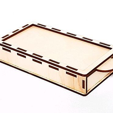 Канцелярские товары ручной работы. Ярмарка Мастеров - ручная работа Пенал с выдвижной крышкой. Handmade.