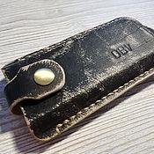 Сумки и аксессуары handmade. Livemaster - original item Leather key holder, body housekeeper Holstein. Handmade.
