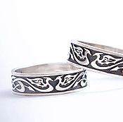 Украшения handmade. Livemaster - original item Silver celtic ring with dragons.. Handmade.