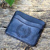 Сумки и аксессуары handmade. Livemaster - original item Leather cardholder No. №3. Handmade.