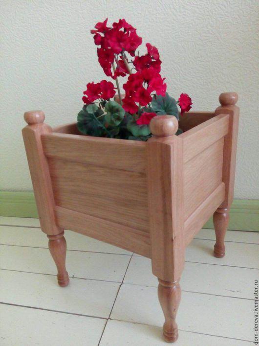 Мебель ручной работы. Ярмарка Мастеров - ручная работа. Купить Тумба для цветов - арт. 045. Handmade. Подставка, из дерева, тумба