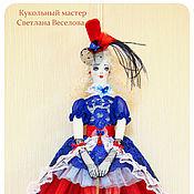 Куклы и игрушки ручной работы. Ярмарка Мастеров - ручная работа кукла тильда КАНКАН ФРАНЦУЗСКИЙ. Handmade.