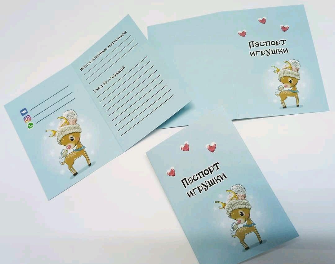 Паспорт игрушки, Визитки, Ярославль, Фото №1