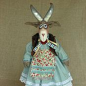 """Куклы и игрушки ручной работы. Ярмарка Мастеров - ручная работа Текстильная игрушка. """"Козочка Роза"""". Handmade."""