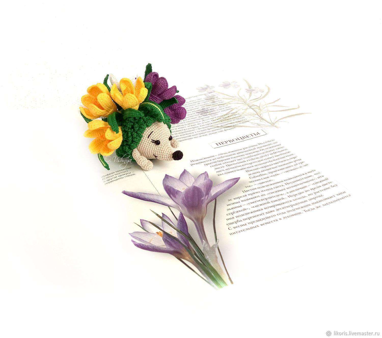 Crocuses! Collection ' Flower hedgehogs!', Stuffed Toys, Novosibirsk,  Фото №1