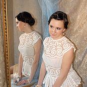 Одежда handmade. Livemaster - original item Author lace tunic. Handmade.