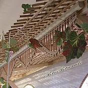Для дома и интерьера ручной работы. Ярмарка Мастеров - ручная работа Плетение в дизайне интерьера зала ресторана. Handmade.