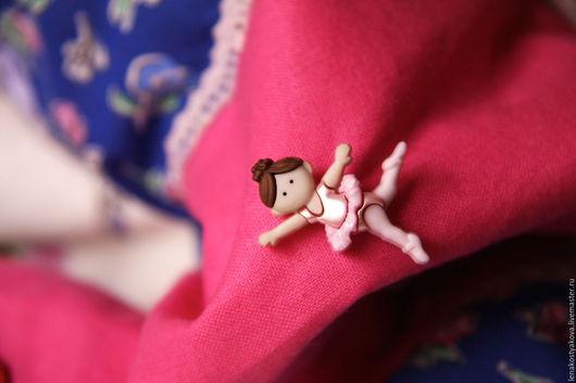 """Пледы и одеяла ручной работы. Ярмарка Мастеров - ручная работа. Купить """"Прима-балерина"""" одеяло для девочки. Handmade. Балерина, пэчворк"""