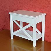Для дома и интерьера ручной работы. Ярмарка Мастеров - ручная работа Тумбочка прикроватная узкая. Handmade.