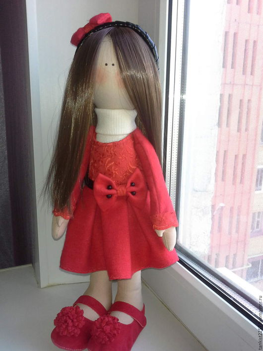 Коллекционные куклы ручной работы. Ярмарка Мастеров - ручная работа. Купить кукла текстильная. Handmade. Кукла ручной работы