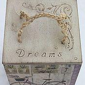 Для дома и интерьера ручной работы. Ярмарка Мастеров - ручная работа короб мечты о Провансе лаванда декупаж. Handmade.