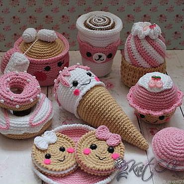 Куклы и игрушки ручной работы. Ярмарка Мастеров - ручная работа Вкусняшки. Handmade.