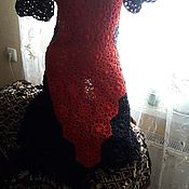 """Одежда ручной работы. Ярмарка Мастеров - ручная работа Платье """"Red and black"""". Handmade."""