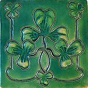 Для дома и интерьера handmade. Livemaster - original item Tile in the style of art Nouveau