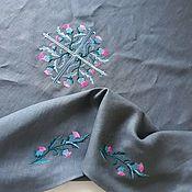 Для дома и интерьера handmade. Livemaster - original item TABLECLOTHS: Linen tablecloth