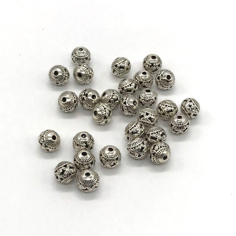 Бусины металлические Античное серебро, Бусины, Санкт-Петербург,  Фото №1