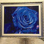 """Картины и панно ручной работы. Ярмарка Мастеров - ручная работа Картина """"Одинокая роза"""". Handmade."""
