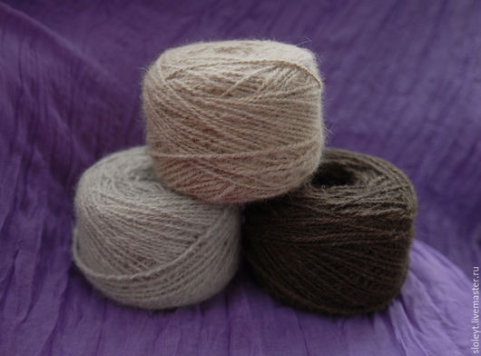 Вязание ручной работы. Ярмарка Мастеров - ручная работа. Купить Пряжа из собачьей шерсти. Handmade. Ручная пряжа, пряжа для вязания