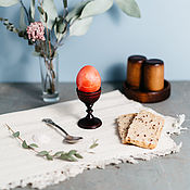 Подарки к праздникам handmade. Livemaster - original item Wooden stand for eggs Siberian Cedar #ES4. Handmade.