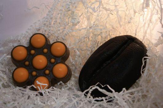 Мыло ручной работы. Ярмарка Мастеров - ручная работа. Купить Мыло ручной работы - Кофейный скраб. Handmade. коричневый
