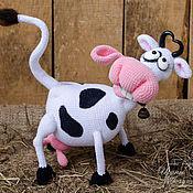 Куклы и игрушки ручной работы. Ярмарка Мастеров - ручная работа Корова Крейзи. Handmade.