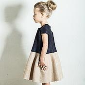 Работы для детей, handmade. Livemaster - original item Felted dress for girl