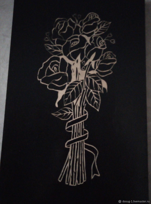 Картины: розы памяти, Символизм, Долинск, Фото №1
