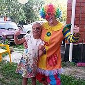 Одежда ручной работы. Ярмарка Мастеров - ручная работа Костюм клоуна для аниматора (клоунесса аниматору). Handmade.