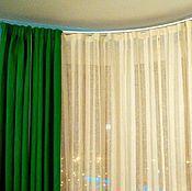 Для дома и интерьера ручной работы. Ярмарка Мастеров - ручная работа Льняные шторы «Лето». Ручная работа.. Handmade.