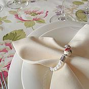"""Для дома и интерьера ручной работы. Ярмарка Мастеров - ручная работа Кольца для салфеток """"Азалии"""". Handmade."""