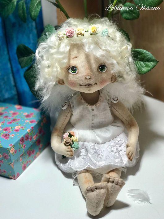 Коллекционные куклы ручной работы. Ярмарка Мастеров - ручная работа. Купить Ангелочек.. Handmade. Ангел, кукла ручной работы, кукла