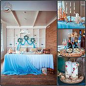 Свадебный салон ручной работы. Ярмарка Мастеров - ручная работа Свадьба в Морском стиле/ Морская свадьба. Handmade.