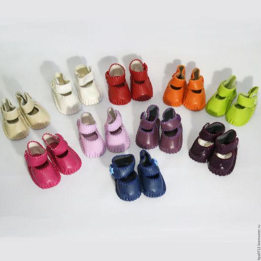 Одежда для кукол ручной работы. Ярмарка Мастеров - ручная работа. Купить Туфельки. Handmade. Туфельки, обувь для кукол