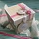 """Подарки на свадьбу ручной работы. Ярмарка Мастеров - ручная работа. Купить Коробочка для денег """"Розовые сны..."""". Handmade. Разноцветный"""