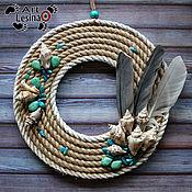 Цветы и флористика handmade. Livemaster - original item Decorative wreath
