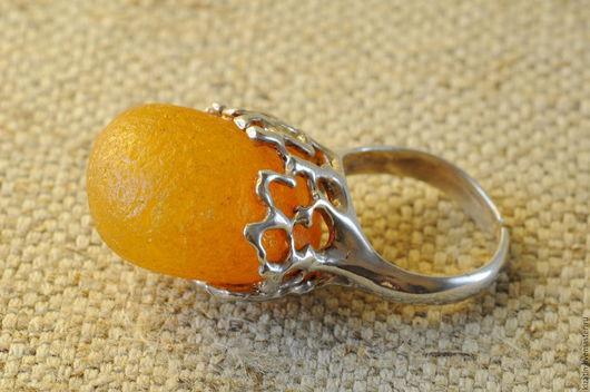Кольца ручной работы. Ярмарка Мастеров - ручная работа. Купить кольцо янтарная капля. Handmade. Янтарь, серебро, янтарь натуральный